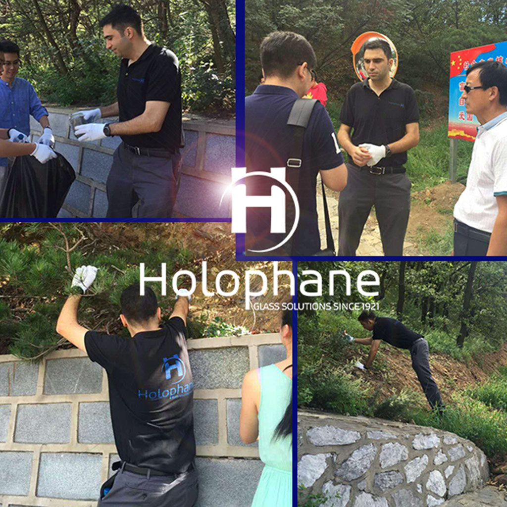 HOLOPHANE involved in ecological actions in China