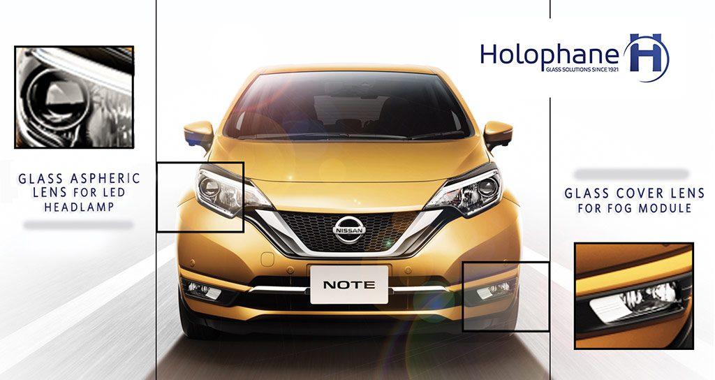 Produits HOLOPHANE sur la Nissan Note