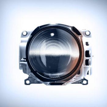 Module optique avec lentille asphérique