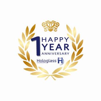 Hologlass 1 year anniversary