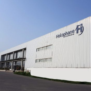 Usine Holophane de Dalian, Chine